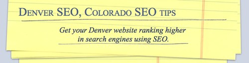 Denver SEO Website, denverseo.info, Screenshot